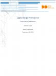 Digital Design Professional - Exam Regulations